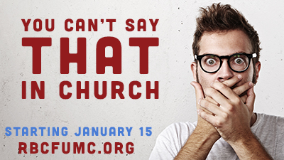What Can't You Say in Church?
