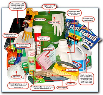 UMCOR Tornado Bucket Supplies - October Mission Focus